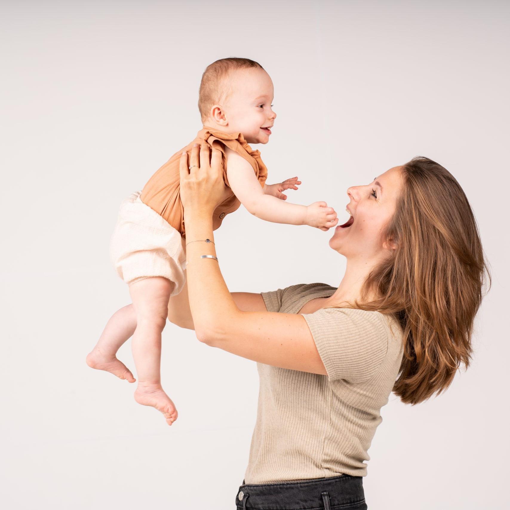 StudioKoudijs Babyfotoshoot baby en vrouw