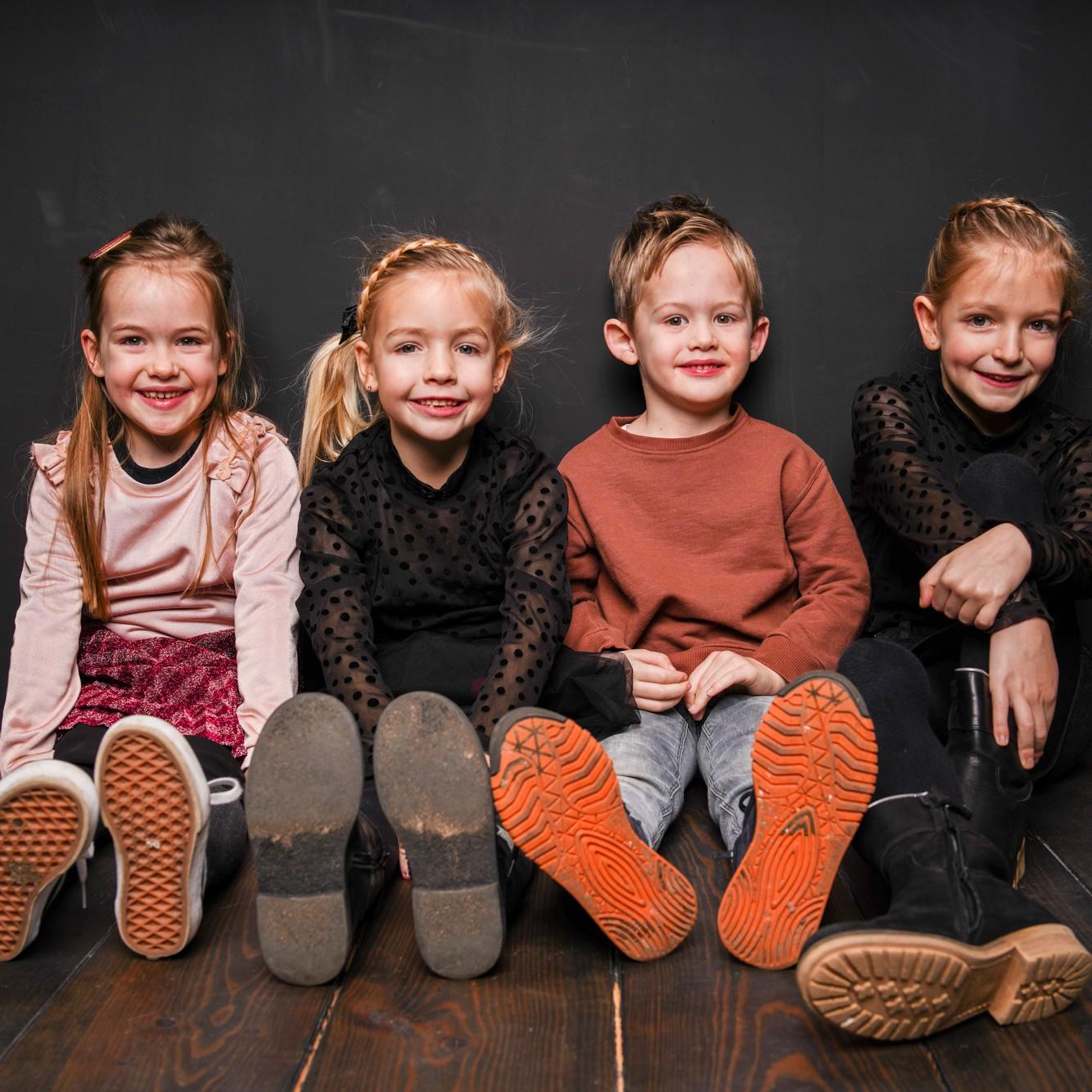 Studiokoudijs Kids fotoshoot